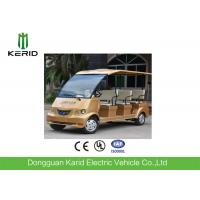 Quality Free Maintenance Battery 72V Motor 8 Seater Electric Sightseeing Bus For Public Transportation for sale