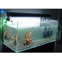 Quality 120 cm Ultra Clear Custom Glass Fish Tanks Super Aquatic White Glass for sale
