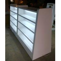 Quality Steel Or Wood Department Store Gondola Display Stands Supermarket Equipment for sale