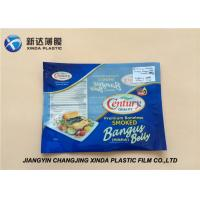 Quality Oxygen Resistant 3 Side Heat Seal Plastic Bags for Sea Food Packaging CE / ROHS for sale