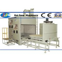 500kg Pressure Pot Sandblaster , Automatic Sandblasting Machine Two Work Stations Type