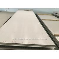 Quality ASTM A240 304 Stainless Steel Sheet Different Finish Surface Seaworthy Package for sale