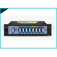 Quality 1 X 8 Channels 1310nm Singlemode Fiber Optic Splitter CWDM Mux / Demux Modules for sale