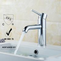 Quality Mechanical Chrome Sink Faucets Without Purified Water Outlet for sale