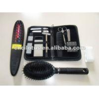 Quality Power grow laser comb ABS Detangling hair Brush Black Personal Device for sale
