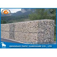 Buy Quick Building-Up Wire Cages For Stone Walls / Wire Mesh Gabions at wholesale prices