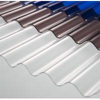 Quality High Light Transmission Clear Corrugated Polycarbonate Sheets For Greenhouse for sale