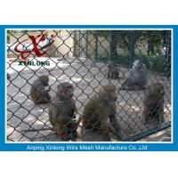 Quality PVC Coated Chain Link Fence For Building Site / Courtyard / Park for sale