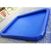 Quality Commercial Children Inflatable Water Pool 7m x 9m For Backyard Blow Up Water Park for sale