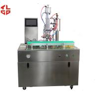Quality Semi Auo R134a Refrigerant Filling Machine , R12 Freon Spray Can Filling Machine for sale