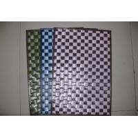 Quality plastic woven placemat for sale