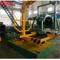 Quality Hydraulic Car Dismantling Equipment , Vehicle Roller Platform For Recycle Waste Cars for sale