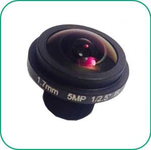 Clip On Phone Lens Fish Eyes Lens 185° Wide Angel 5MP Pixel MTV Mount