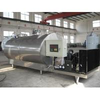 Buy cheap 3 TPH Fresh Raw Milk Cooling Tank Dairy Processing Equipment SUS304 from wholesalers