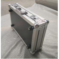 Buy 4 Pieces in 1 Microphone Flight Case and Tool Case Double-Box Aluminum Tool Box at wholesale prices