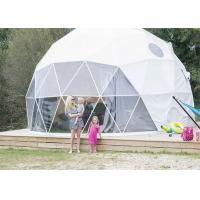 Buy cheap European Style Geodesic Dome Tent Waterproof Canopy UV - resistant Long Lifespan from wholesalers