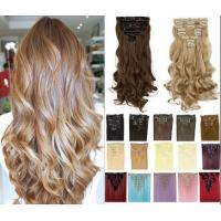 Quality High Temperature Synthetic Hair Extensions Long Body Wave No Tangling And No Shedding for sale