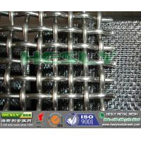 Quality 304 crimped wire mesh, double locked crimped wire mesh, 316 crimped wire mesh panel for sale