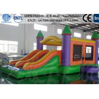 Quality 0.55mm PVC Commercial Inflatable Bouncer  Castle with EN 71 and CE Stardands for sale