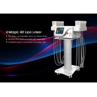 Quality Tuv Medical Ce Smart Lipo Machine , Non Invasive Laser Lipo Machine 650nm / 940nm for sale