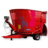 Quality Movable Livestock Feed Grinder Mixer , Large Volume Sheep Feed Grinder And Mixer for sale