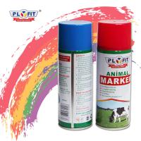 Quality Harmless Colorful Animal Marking Paint Safe Spray Distinguish Between Sheep / Pig / Cattle for sale