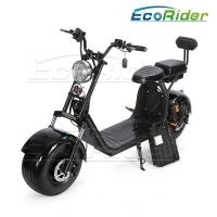 Quality Harley 2 Wheel Electric Scooter 1500w big motor and double 60v 20ah lithium battery citycoco for sale