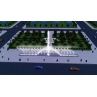 China Construction Decorative Floor Dry Deck Fountain Music Dancing Water Fountain With LED Light on sale