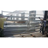 Quality Hot Dipped Galvanized Cattle Yard Panels 5 6 Bars Cattle Horse Corral Panels for sale