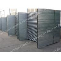 Buy Hot Dip Galvanized Cattle Yard Panels 40*80mm Oval rail 1.3m tall goat panel at wholesale prices