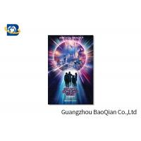 Quality High Resolution Lenticular Greeting Cards Movie Star Photo Eco - Friendly Material for sale