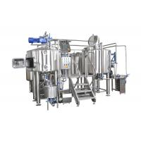 Quality 3HL Capacity 4 Vessel Brewhouse SS304 Fabrication Gas Fired Heating For Brewery for sale