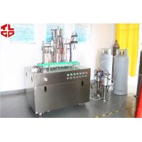 Quality 0.75-0.9Mpa Aerosol Spray Filling Machine For Flame Retardant Ribbons for sale