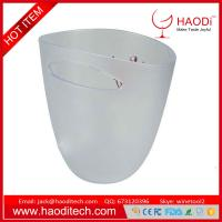 China Reusable Plastic Ice Bucket Party Beverage Drinks Chilling, Made from Plastic on sale