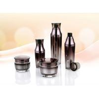 Quality 15ml 30ml 50ml new design acrylic bottles and jars cosmetic packaging set for sale