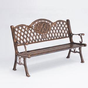 China Park Street Furnitures EN840 Cast Aluminium Garden Bench on sale