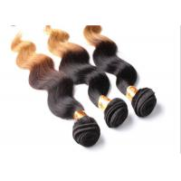 Quality Body Wave Two tone color hair extensions , Brazilian Grade 7A Virgin Hair for sale