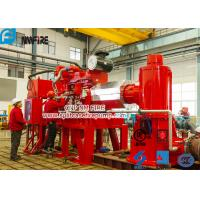 Quality Foam Concentrate Used Multistage Vertical Turbine Fire Pump Sets With Firefighting Diesel Engine Driven With 750 Usgpm for sale