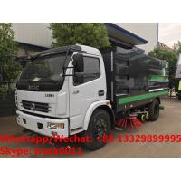 Buy cheap 2018s YEAR-END PROMOTION! HOT SALE! Dongfeng 120hp diesel road washing sweeper from wholesalers