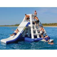 Quality aquaglide slide ,lake inflatable  water park games , floating water park for sale