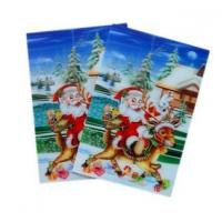 Quality OK3D sell High quality plastic greeting  flip 3d lenticular printing with 3D images cover designed by PSDTO3D software for sale