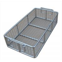 Quality Stainless Steel Metal Wire Basket for fruit washing / frying /steaming for sale