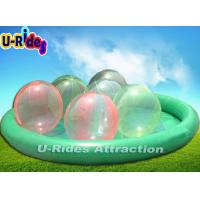 Quality Giant Inflatable Kids Swimming Pool  With Inflatable Water Ball for sale
