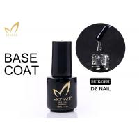 Quality No Odour Long Stay Base Coat Uv Gel , Gel Top And Base Coat Eco - Friendly for sale