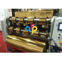 Buy Superb Paper Hot Stamping Foil 640mm * 120m Size Roll 16 Micron Thickness at wholesale prices