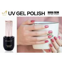 Quality Nail Art Beauty 1 Step Gel Nail Polish , Easy Soak Off Matte Gel Nail Polish for sale