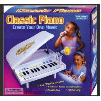 Quality Classic Small Plastic Toy Piano Battery Operated With Microphone Demo Songs for sale
