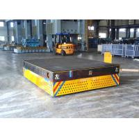 Quality Motorized trackless transfer bogie for steel facolity transport for sale