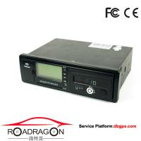 Quality Black Vehicle Traveling Driving Recorder GPS device support GSM GPRS communication modes for sale