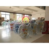 Buy cheap 1.50M Inflatable Amusement Park Roll Inside Soccer Bumper Knocker Ball from wholesalers